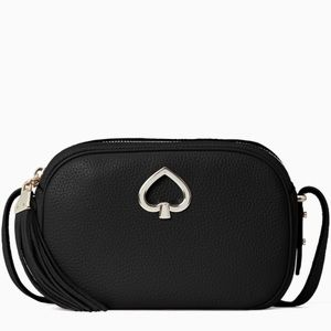 Kate Spade ♠️ NWT Black Crossbody Camera Bag